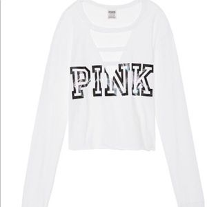 Perfect Ladder Front Crop Tee